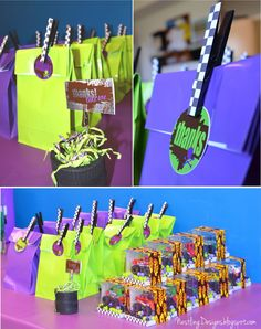 Monster Truck Party - Gift bags!