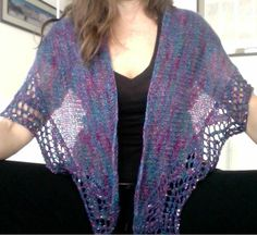 Large version of Crown Royale Shawl from One + One