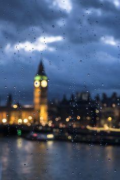 london | rain