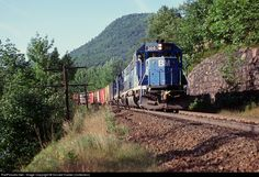 RailPictures.Net Photo: B&M 300 Boston & Maine EMD GP40-2 at Florida, Massachusetts by Donald Haskel (Collection)