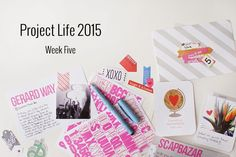 Amca Design: PROJECT LIFE - Year 2015 Week five
