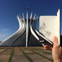 SketchBlog — Alegria #catedral #catedraldebrasilia #igbsb...