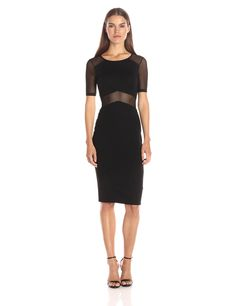 French Connection Women's Arrow Mesh