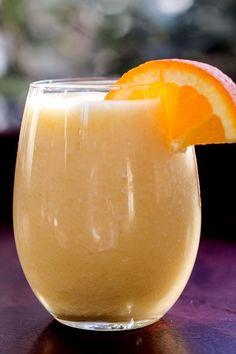 Pineapple Orange Smoothie   girlgonegourmet.com
