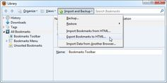 export-firefox-bookmarks-to-html