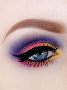 Sunset+Seyes+https://www.makeupbee.com/look.php?look_id=90808