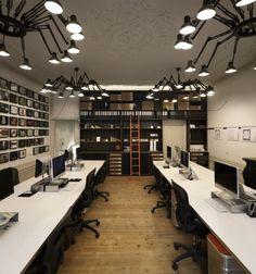 Het kantoor van Amsterdams architectenbureau Concrete | roomed.nl