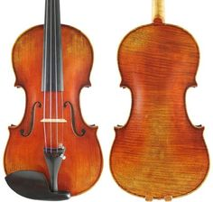 Generic La Messie Stradivari Copy 44 Violin Old Spruce Antique Varnish One Pc Back ** Check out this great product.Note:It is affiliate link to Amazon.