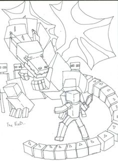 ender dragon coloring pages - Google Search