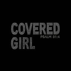 Faith Covered Girl 5x9.25 Faith Rhinestone Bling