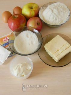 Ингредиенты для корнуэльского яблочного пирога