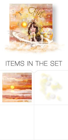 """""""*✧・゚:* Fine *:・゚✧"""" by rah00maa ❤ liked on Polyvore featuring art"""