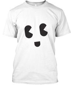 Tees Smily White Camiseta Front