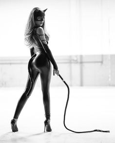 Parent, Transwoman, martial artist, aspiring femme fatale and more than half convinced that I may be of the djinn. Black Cat Costumes, Girl Costumes, Leather And Lace, Leather Pants, Leather Catsuit, Catsuit Costume, Black Catsuit, Female Cop, Alpha Female
