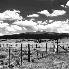 New Mexico landscape.  Black & white edit of a photo originally posted by @txsassdiva.