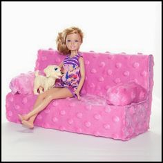DIY Barbie Couch