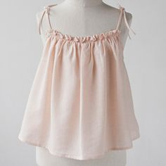 to sew: kids camisole blouse