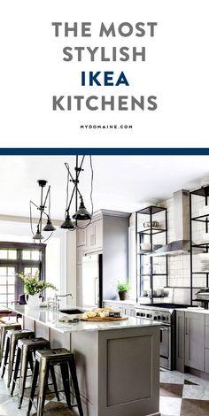 IKEA kitchens you'll want to mimic immediately