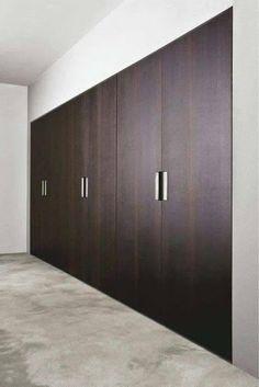 New bedroom design wood closet doors Ideas Curtains For Closet Doors, Wood Closet Doors, Modern Closet Doors, Bedroom Closet Doors, Wardrobe Design Bedroom, Wardrobe Doors, Wardrobe Closet, Built In Wardrobe, Modern Wardrobe
