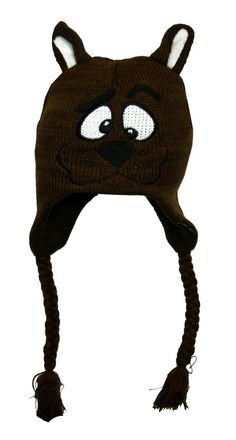 AmazonSmile   Scooby Doo Head Fleece Lined Brown Knitted Laplander Hat   Cap    Other Products 4b436c092937