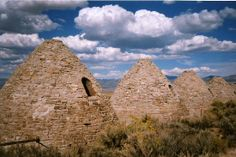 Ward Charcoal Ovens Ely Nevada  State Park  2 hrs south of Wendover, NV