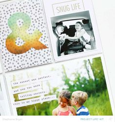 I went out on a limb this month with my Project Life spread over at Studio Calico and decided to give the size a go again! Pocket Scrapbooking, Scrapbook Cards, Page Protectors, Cool Magazine, Studio Calico, Life Inspiration, My Happy Place, Project Life, Sunset