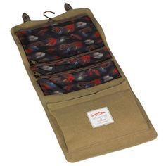 Fly Fishing Cosmetic Bag
