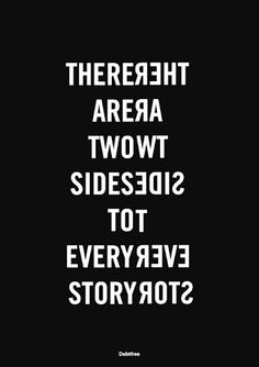 #Quotes #2Sides #Story