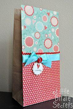 {kids valentine bag} and my new crochet hat pattern! | Little Birdie Secrets