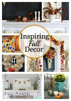 Awesome Fall ideas and tons of inspiration. http://www.chatfieldcourt.com