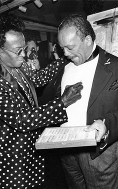 Diary Of A Radical Conformist. Miles Davis sketches on Quincy Jones shirt during his 65th Birthday celebrations. I wonder if Quincy still has that shirt.