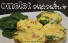 Omelet Cupcakes Recipe - My favorite gluten free breakfast.