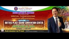 LIVE (SOUNDS OF WORSHIP by Pastor Apollo C. Quiboloy) at the Dotties Pla... New Names, Son Of God, Convention Centre, The Real World, Live, Apollo, Worship, Philippines, Places To Visit