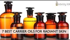 7 Best Carrier Oils for Radiant Skin