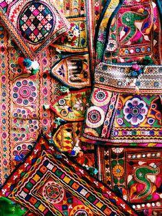 Mirror work embroidery (Gujrat)
