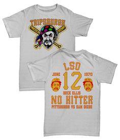 Baseball Legends inspired streetwear t-shirt. In 1970 Dock Ellis took an  unknown amount 97439a133