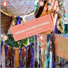 A step-by-step dreamcatcher tutorial with detailed photos and instructions!