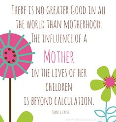 I love the music video in this post.  Perfect for all the mothers out there!!  Children, Motherhood, & Life ~ Sunday Sunshine