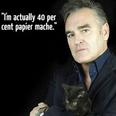 Bigmouth Strikes Again: Morrissey's 17 most outrageous quotes. The man knows how to be a tad controversial...  Click the image for more.