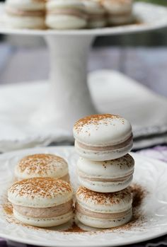 Need a new way to enjoy your favorite cinnamon sugar cookie? These snickerdoodle macarons are IT!