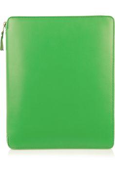 Leather iPad case|NET-A-PORTER.COM