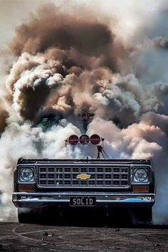 Danny Smith awesome C10 burnout truck