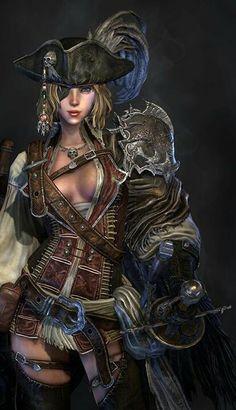 Necessary Fantasy pirate women