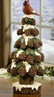 Photo: Una idea diy para decorar tu hogar esta navidades : Mas ideas diy navideñas en : https://es.pinterest.com/decobeltran/