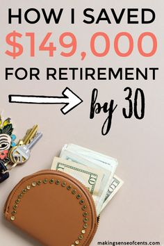 Does retirement feel like a lifetime away? Use some of our tips & tricks to help you cushion your retirement savings.all before you've even hit Stop stressing and start saving! Saving For Retirement, Early Retirement, Retirement Planning, Retirement Savings, Managing Your Money, Make Money Blogging, Money Saving Tips, Saving Ideas, Money Tips
