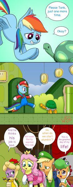 Mario pony lol
