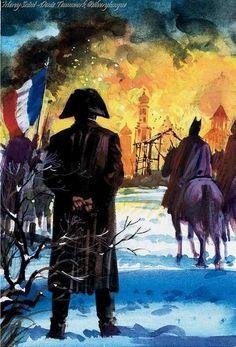 Napoleon devant Moscou en feu -Andrew Howat