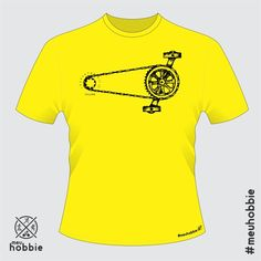 Camiseta bike e meuhobbie single speed sonoro www.meuhobbie.com