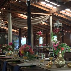 Still crushing over this wedding at Vinewood Events using our metallic wheat linen drapes .  The color palette and florals were to die for! #event-draping,#crush-draping,#dance-floor-draping