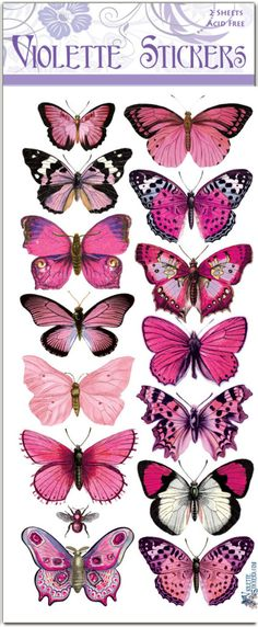Classic Violette Stickers – Violette Stickers